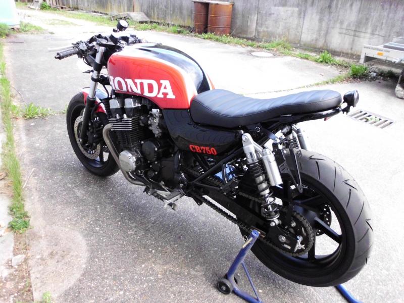 oleck custom motorbike archive honda seven fifty cafe racer brat. Black Bedroom Furniture Sets. Home Design Ideas