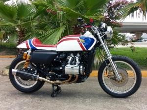 Honda GL1000 Cafe Racer…