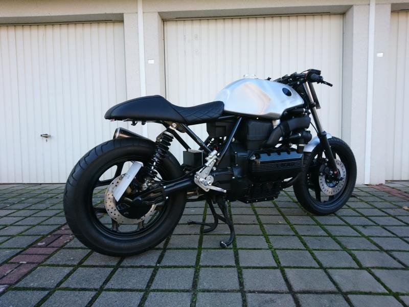 oleck custom motorbike archive bmw k100 racer. Black Bedroom Furniture Sets. Home Design Ideas