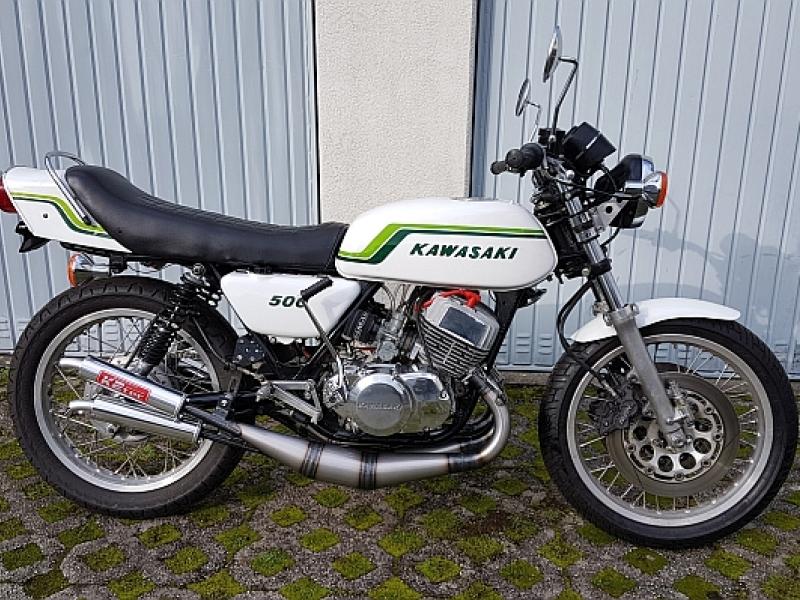 S2 350 with H1 500cc engine by Triple Klinik GL