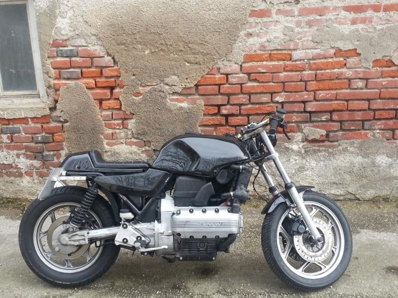 oleck custom motorbike archive bmw k 100 cafe racer. Black Bedroom Furniture Sets. Home Design Ideas