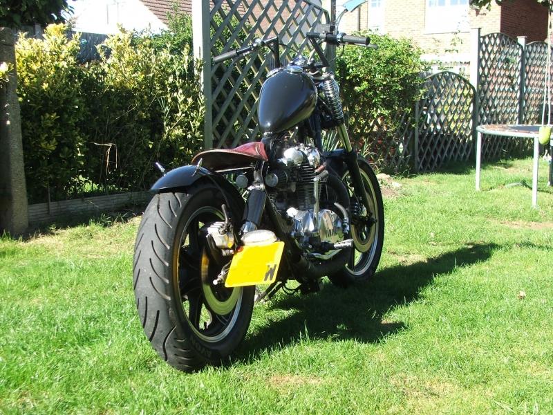 Oleck Custom Motorbike Archive | xs650 Bastard Brat Bobber