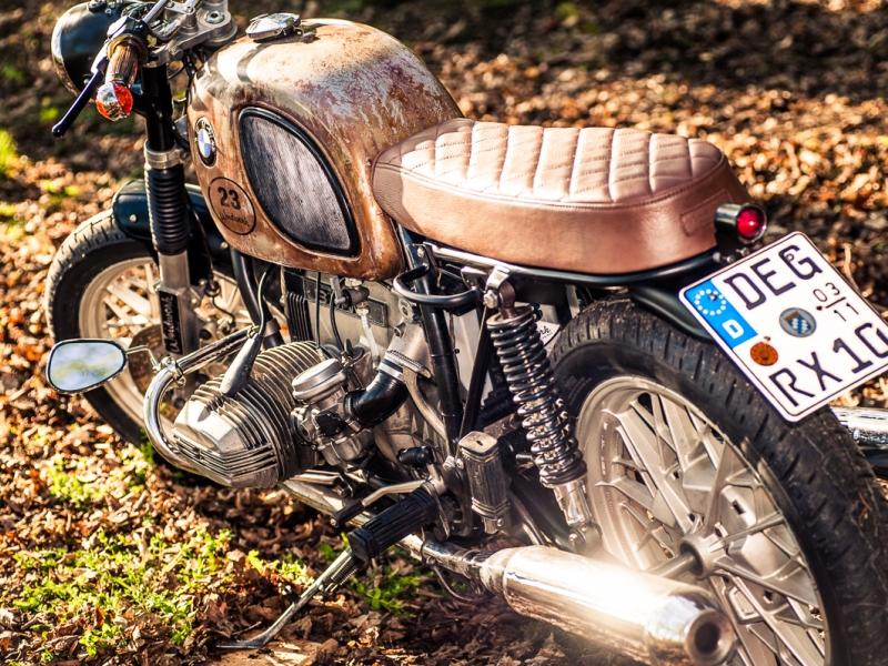 oleck custom motorbike archive bmw r45. Black Bedroom Furniture Sets. Home Design Ideas