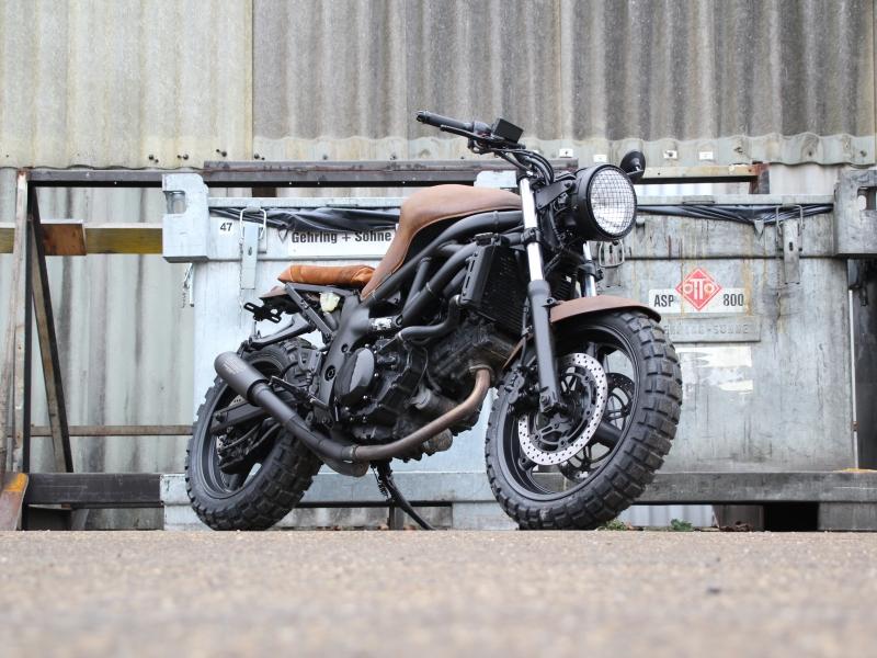 oleck custom motorbike archive sv 650 scrambler. Black Bedroom Furniture Sets. Home Design Ideas