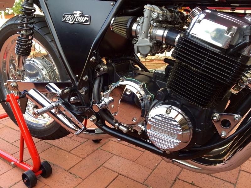 Motorrad Verkleidung Cafe Racer