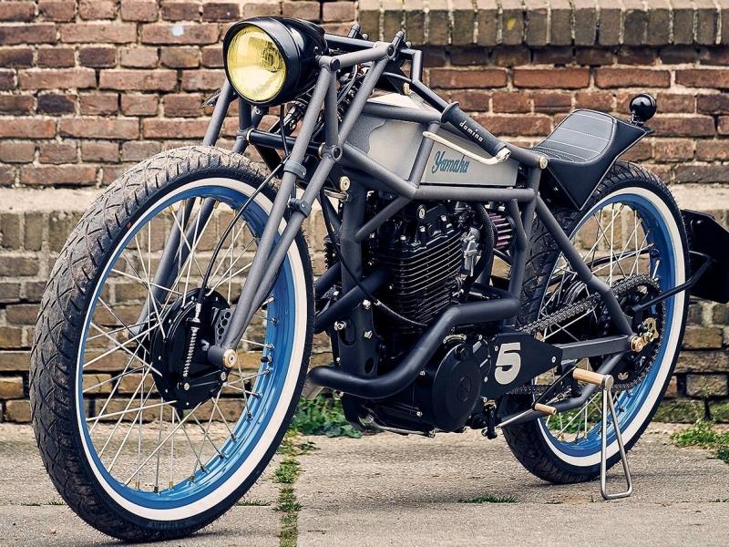 Oleck Custom Motorbike Archive | Yamaha XT550 Boardtracker