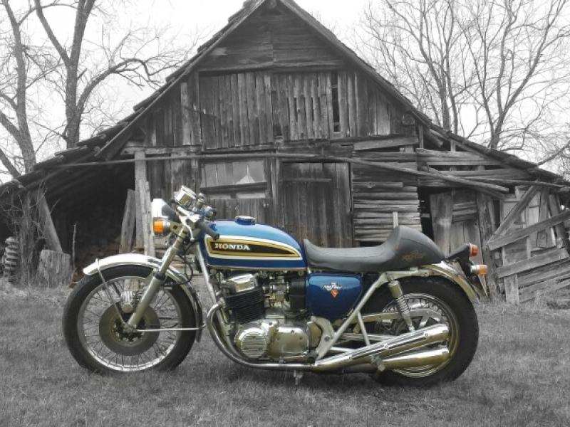 Oleck Custom Motorbike Archive Burnout Honda Cb 750 Four