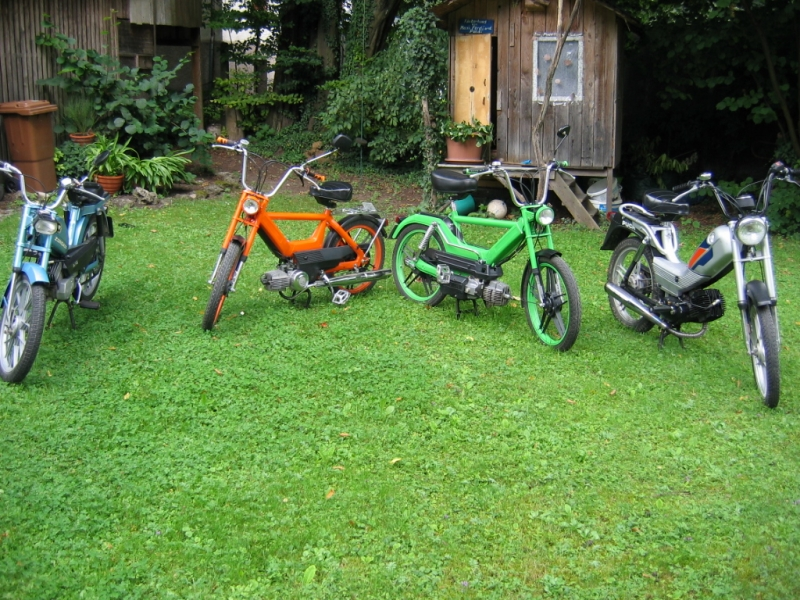 Oleck Custom Motorbike Archive   aller Anfang / Puch Maxi GS2 & Maxi N