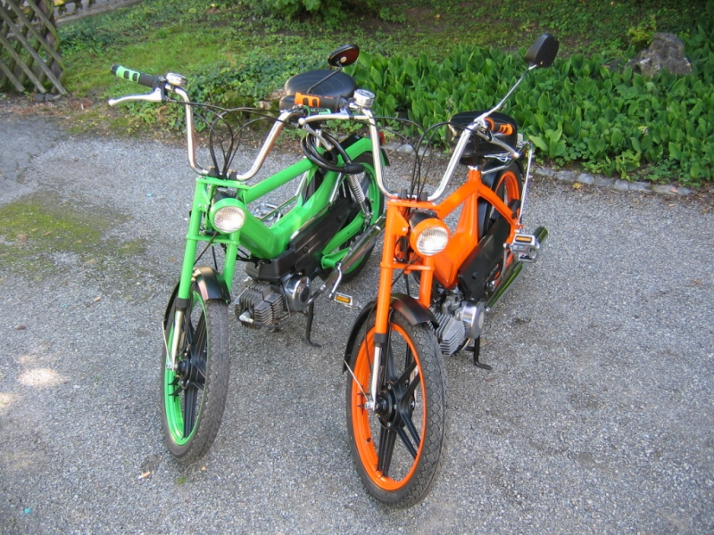 aller Anfang / Puch Maxi GS2 & Maxi N by Sushiscustoms