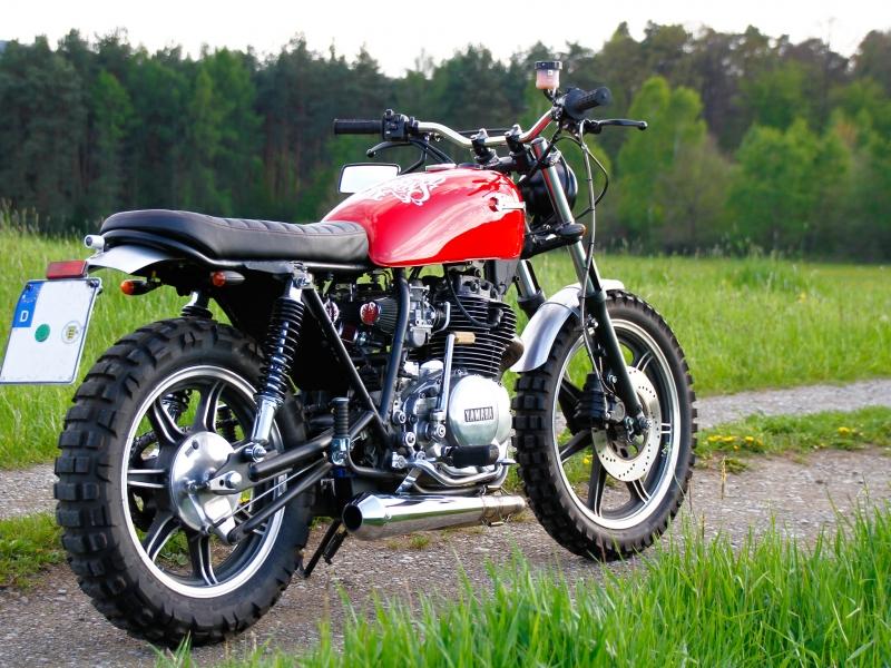 Oleck Custom Motorbike Archive Xs 400 Scrambler