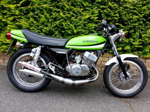 KH250 with 500cc H1…